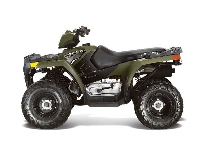 2014 Polaris Sportsman 90 Sage Green